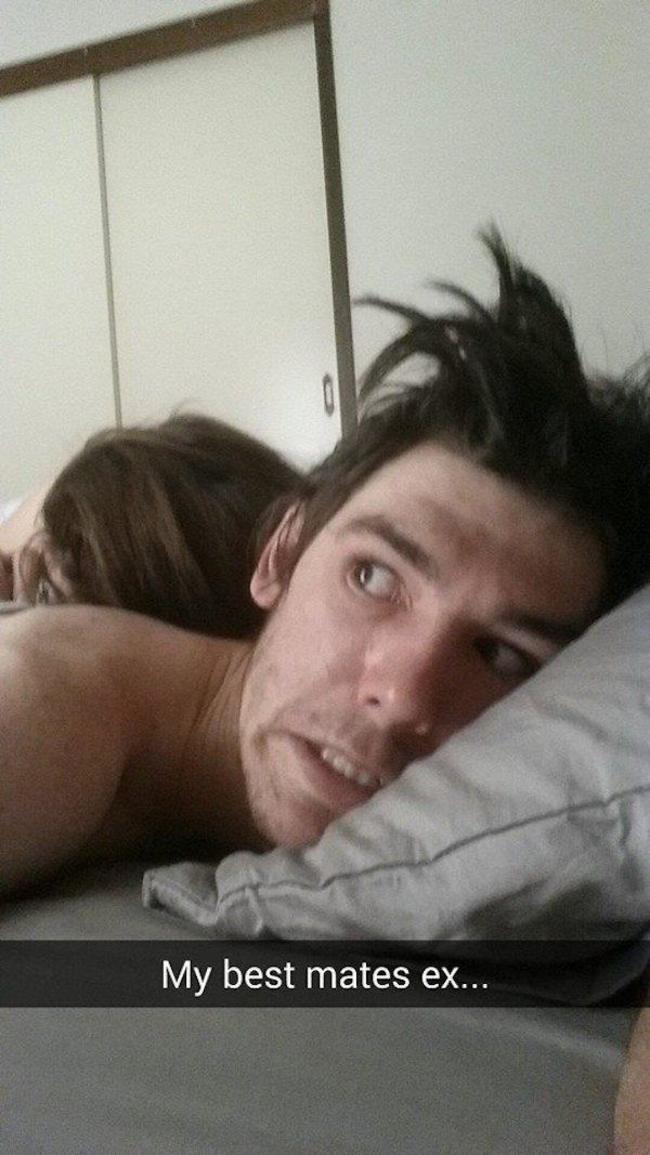 Les selfies après le sexe
