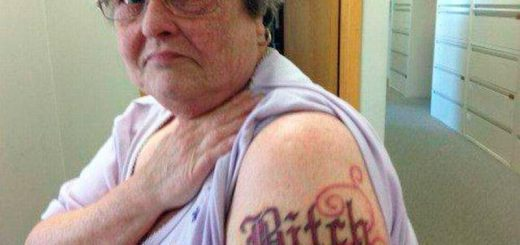 tatouage bitch !