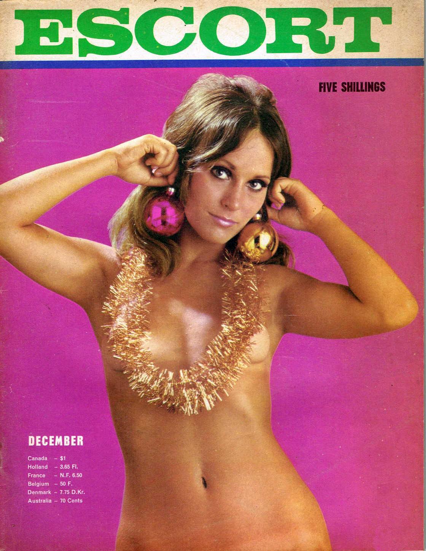 Les couvertures des magazines érotiques de Noël des années 1940 à 1990