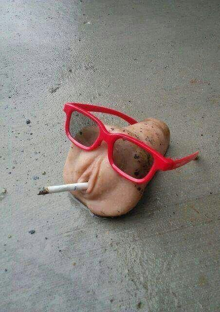 fumer une clope